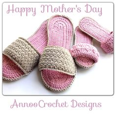 libraries, chrochet slipper pattern, patterns, mothers day, crochet footwear, knit, annoo crochet, crochet cloth, spa slipper