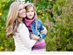 Beautiful Mom and Me Photos for Mothers Day - Portrait Photography by Liz Labianca Photography via iHeartFaces.com