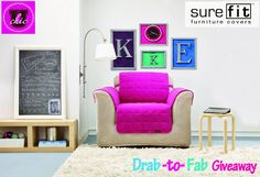 Drab to Fab Twitter Giveaway: UChic and Sure Fit Slipcovers