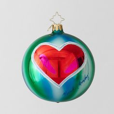 Mariska Hargitay designed ornament to support mental health programs for kids.