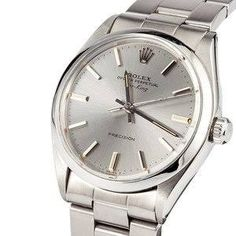 Pre Owned Men's Rolex Air-King Stainless Steel 5500 $2895