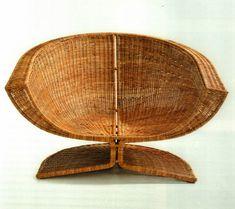 // Miller Ye Fong for Tropi- Cal. Lotus Chair, 1968