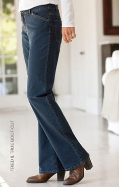 Tried true boot cut jeans and sofft 174 leather buckle booties www