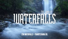 Project 543 | Take in 250 waterfalls in one county #NC543