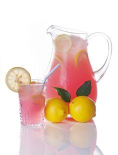 Pink 'Jubliee' lemonade