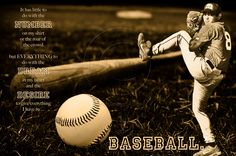 Customized Artwork of Your Athlete. $45.00, via Etsy. MereImageDesign shop #baseball #quotes #teen #sports