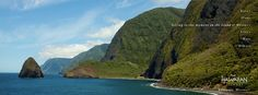 Kalaupapa, Molokai - our new #Facebook Cover Photo! #gohawaii #hawaii