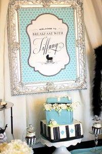 Breakfast at Tiffany's baby shower