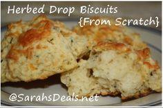 Herbed Drop Biscuits {Scratch Recipe} | Sarah's Deals