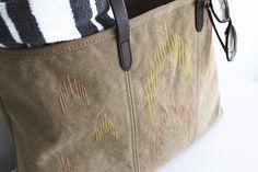 {diy} ikat inspired beach bag
