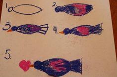 Love Birds: A Pastels Tutorial