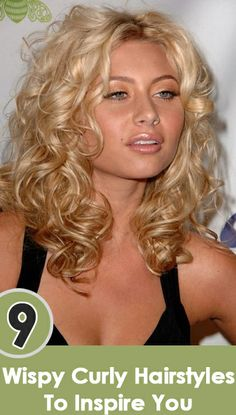9 Wispy Curly Hairstyles To Inspire You