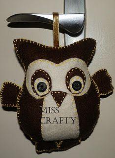 Felt toy - Brown Owl