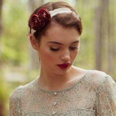 Red lipstick. <3