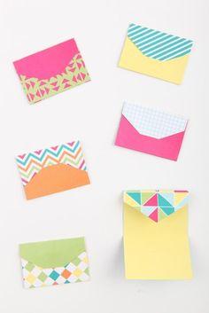 mini me envelopes