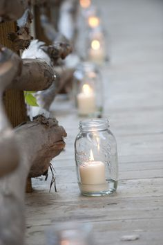 Light the way, mason jars