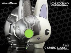 Cyborg Labbit Nemisis is a dark rogue non-stop smorker.