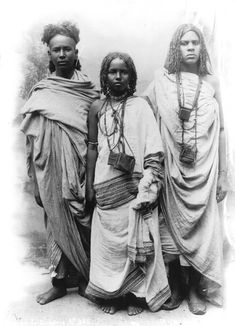 Young Bishari's of North Africa  Egypt, 1890