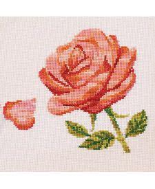 Rose Falling Petal, from DMC Club.