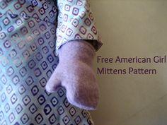 Free American Girl Mittens pattern