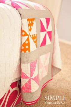 Simple Simon & Company: On Quilting