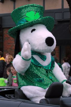 St. Patrick's Day Snoopy