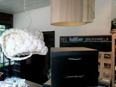 Lamp by local brand MAMMALAMPA, Riga, Latvia.