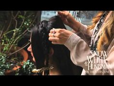 Snow White and the Huntsman - Kristen Stewart Hairstyle Tutorial (extended)