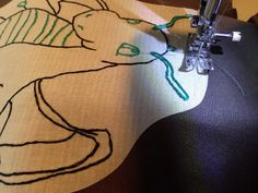 How to Turn a Child's Illustration into an Embroidery Pattern // http://blog.diynetwork.com/maderemade/how-to/how-to-turn-illustrations-into-embroidery-patterns-and-appliques/?soc=pinterest