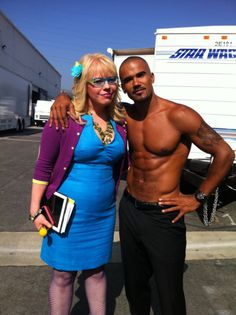 Kirsten Vangsness and Shemar Moore. The reasons that I watch Criminal Minds.