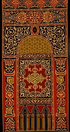 Applique Quilts made by the Tentmakers of Cairo