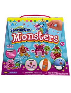 Sparkle Up Monsters Kit | Crafts | Toys & Crafts | Shop Justice