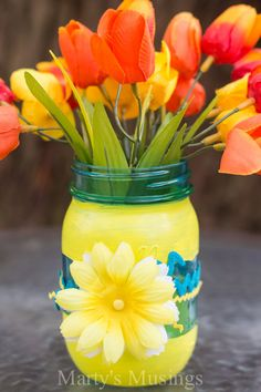 Mason Jar Ideas for Crafts and Video - Marty's Musings
