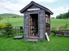 """Love this! Out back of the BiblioBarn are the BIBLIO BARGAINS! Roses Book Rd, South Kortright in central NEW YORK State, 13842. """"10 cents ea, 12 for a dollar. Read Dirt Cheap!"""" No doubt prices are subject to change :-)"""