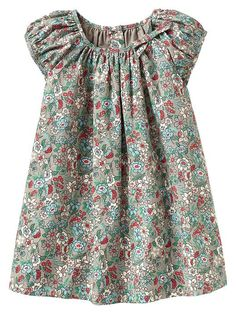 Shirred floral dress Product Image