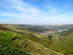The valleys in South Wales are another of our favourite romantic views.