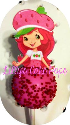 Strawberry Shortcake Cake Pops  #cakepops