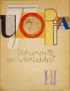 Bauhaus Weimar Typography, Oskar Schlemmer, Cover, 1921