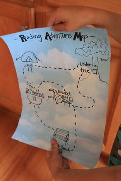 Make reading fun for your kids with this reading adventure map! The goal is to read 1 book in each secret spot, and who knows maybe treasure awaits at the end. (via Ever Never Again)