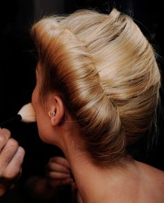#hair #beauty #style #fashion #updo #blonde #blondehair