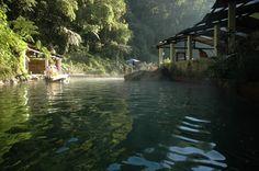 Hot springs near Xela Guatemala...so relaxing after a long week of building!