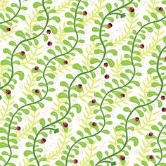 spring! vines + #ladybugs