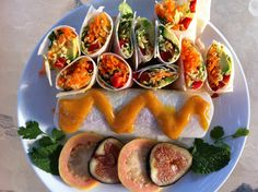 sweet and spicy wraps!! BY: Bibi Zambrano for the FullyRawKristina Recipe Competition!!