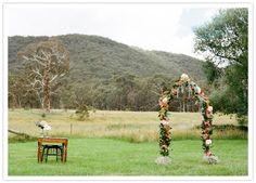 colorful Australian wedding  #ceremony #wedding #arch #weddingarch #weddingflowers #flowerarch