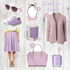 Live it . Love it . Make it.: Lilac is Back! Fashion Favourites Wishlist