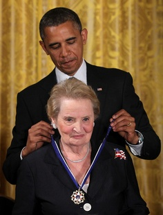 Madeleine Albright:  Saw her in person at a John Kerry rally in Reno, Nevada, in 2004.