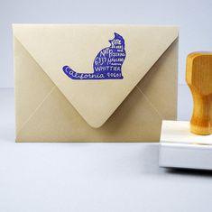 return address stamp!