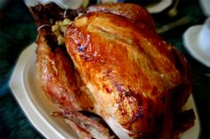 Looking for a turkey recipe? Look no further: Tassos® Honey Glazed Turkey