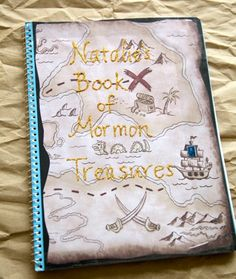 Treasure map and activity for kicking off the Book of Mormon