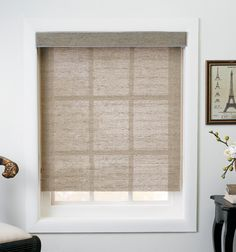 Customize your roller shades to fit your home just right. Crisp and clean look that goes well with any style.
